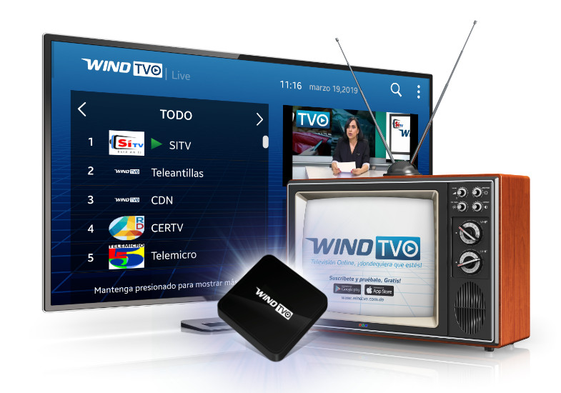 Wind Telecom: Servicios de Internet 4G, Televisión Digital y